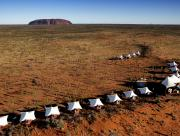 Ayers Rock Aerial View