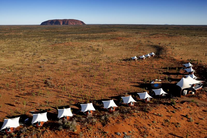 ... Ayers Rock Aerial View ...